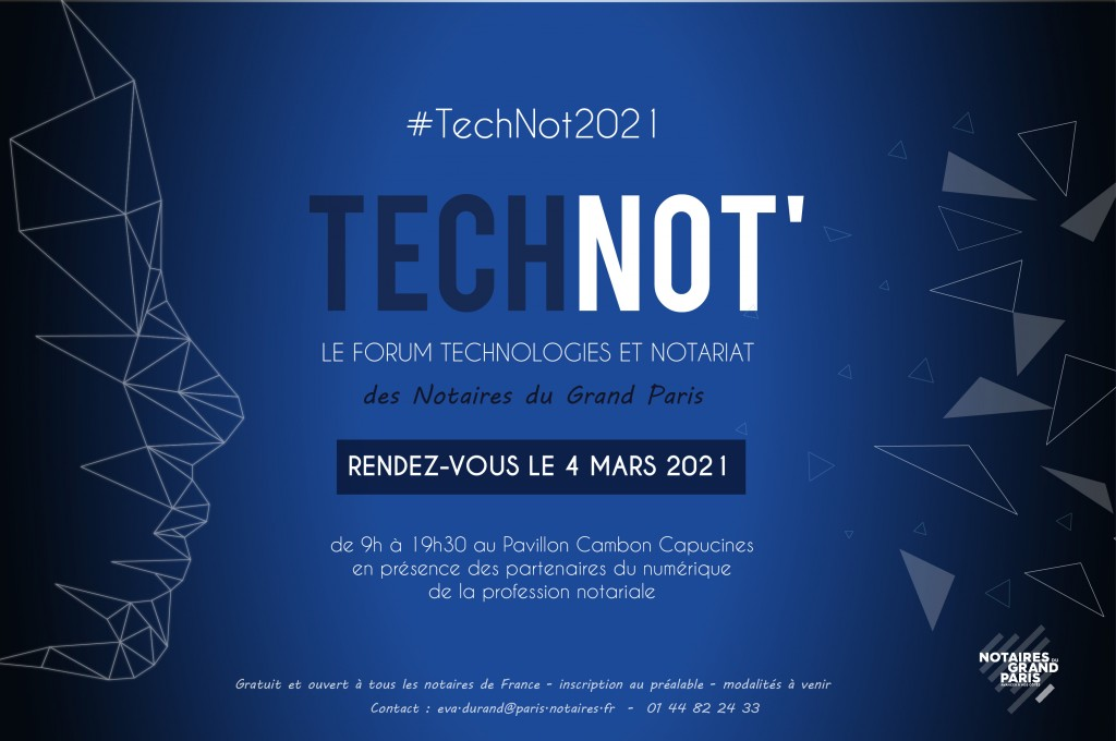 SAVE THE DATE  TECHNOT 2021